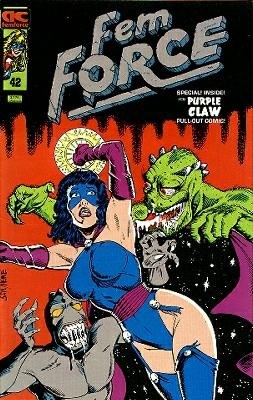 Femforce Issue #42 Cover